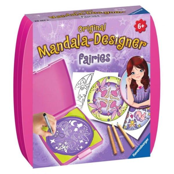 Купить Мини мандала Ravensburger Феи в интернет магазине игрушек и детских товаров