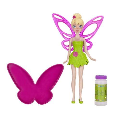 Купить Игровой набор Disney Fairies Дисней Фея Мыльные пузыри Динь-динь 23 см в интернет магазине игрушек и детских товаров