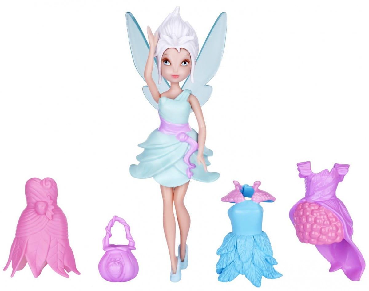 Кукла Disney Fairies 747340 Дисней Фея 11 см и 3 платья - Незабудка
