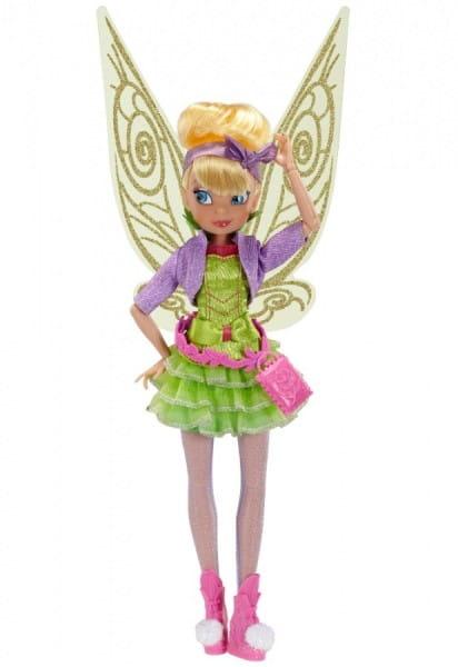 Купить Кукла Disney Fairies Дисней Фея Делюкс 23 см - Динь-Динь (Тайны пиратского острова) в интернет магазине игрушек и детских товаров