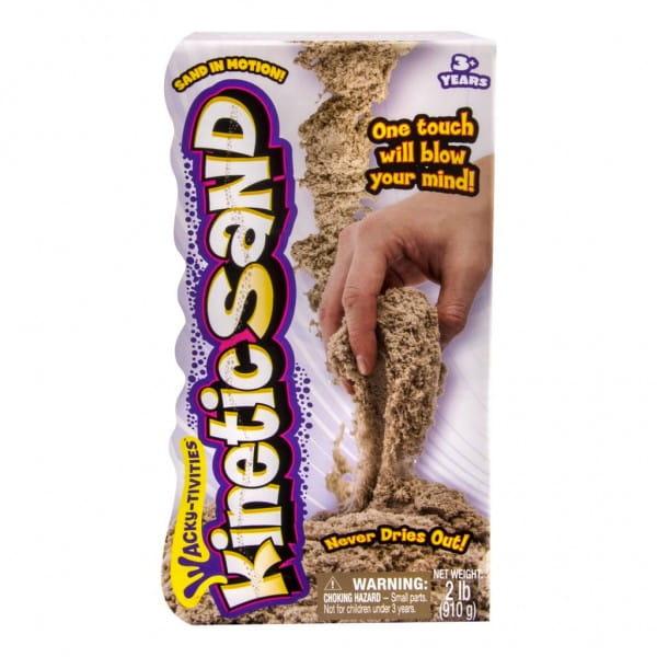 Песок для лепки Kinetic Sand - коричневый (910 грамм)