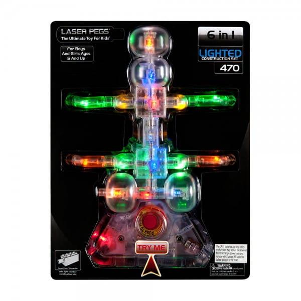 Купить Светодиодный конструктор 6 в 1 Laser Pegs Жук в интернет магазине игрушек и детских товаров