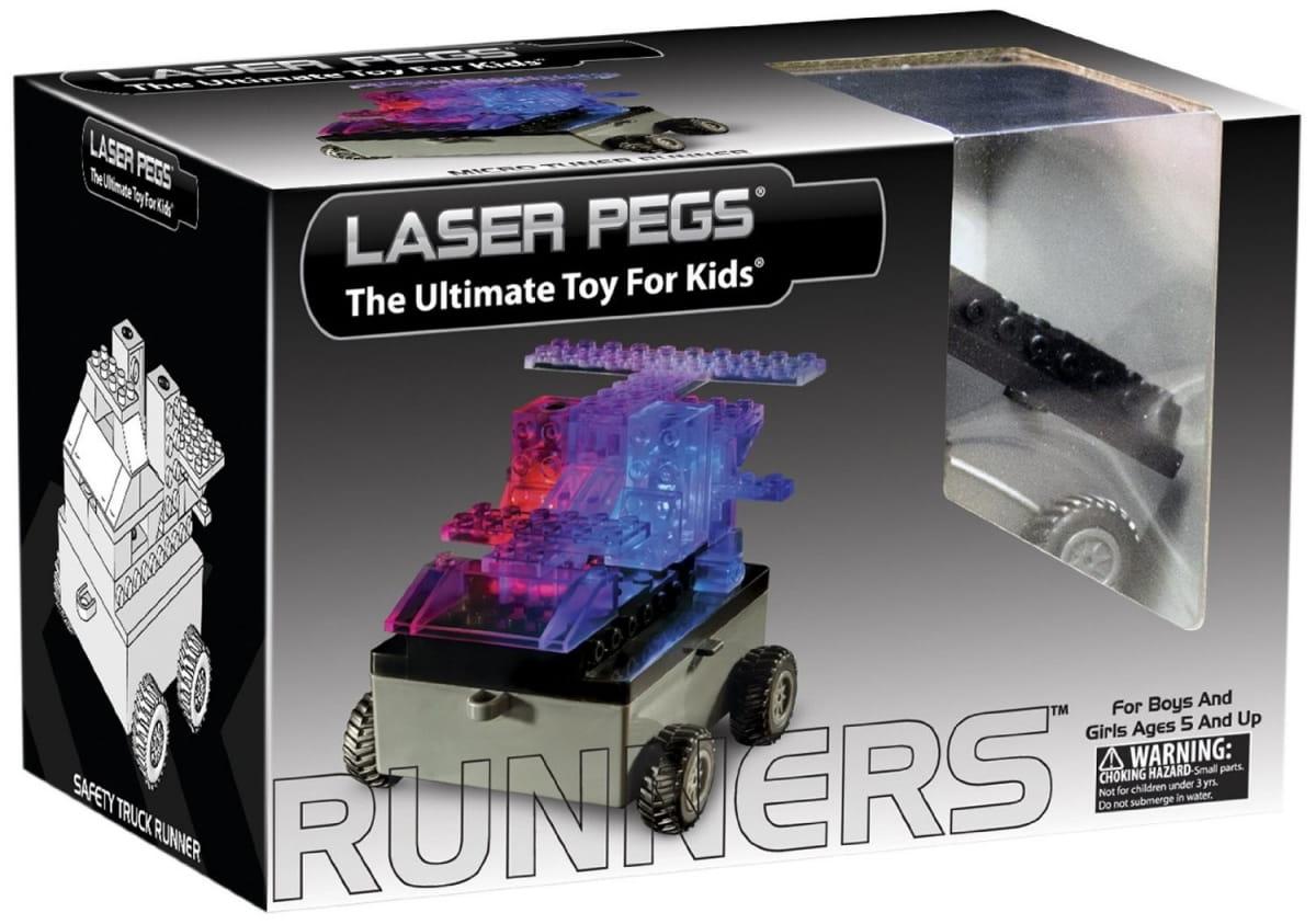 Светодиодный конструктор 6 в 1 Laser Pegs Военная машина