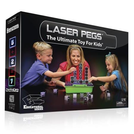 Купить Светодиодный конструктор Laser Pegs Латинский алфавит в интернет магазине игрушек и детских товаров