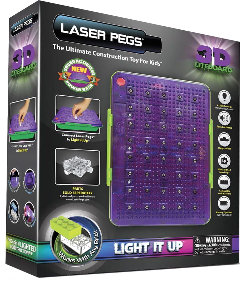Световая панель 3D Laser Pegs