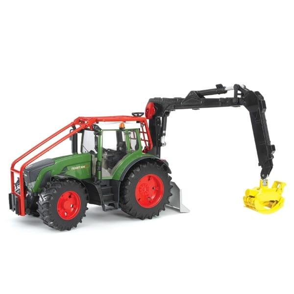 Лесной трактор с манипулятором Bruder Fendt 936 Vario