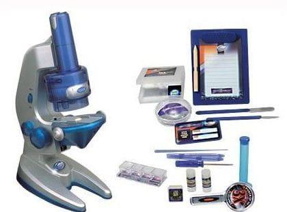 Купить Детский Микроскоп Eastcolight с объективом - 64 предмета в интернет магазине игрушек и детских товаров