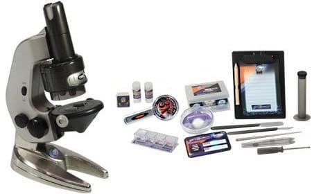 Купить Детский Микроскоп Eastcolight с объективом - 62 предмета в интернет магазине игрушек и детских товаров
