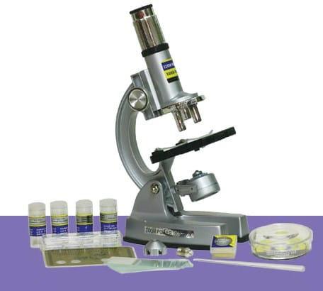 Купить Детский Микроскоп для школы Eastcolight в интернет магазине игрушек и детских товаров