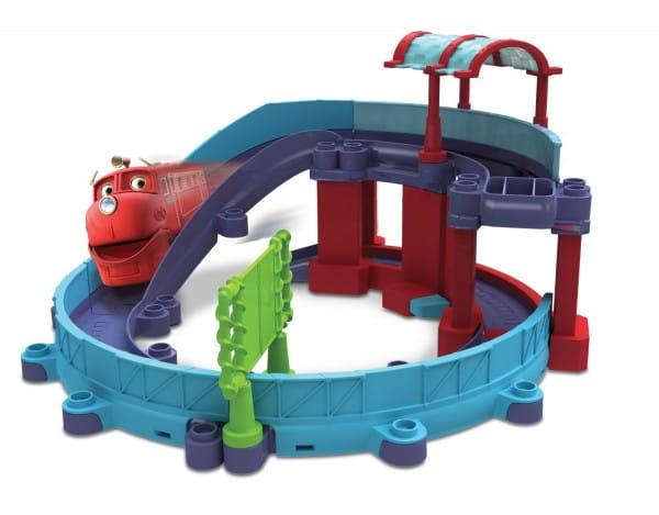 Игровой набор Chuggington LC54237 Die-Cast Станция техосмотра с Уилсоном
