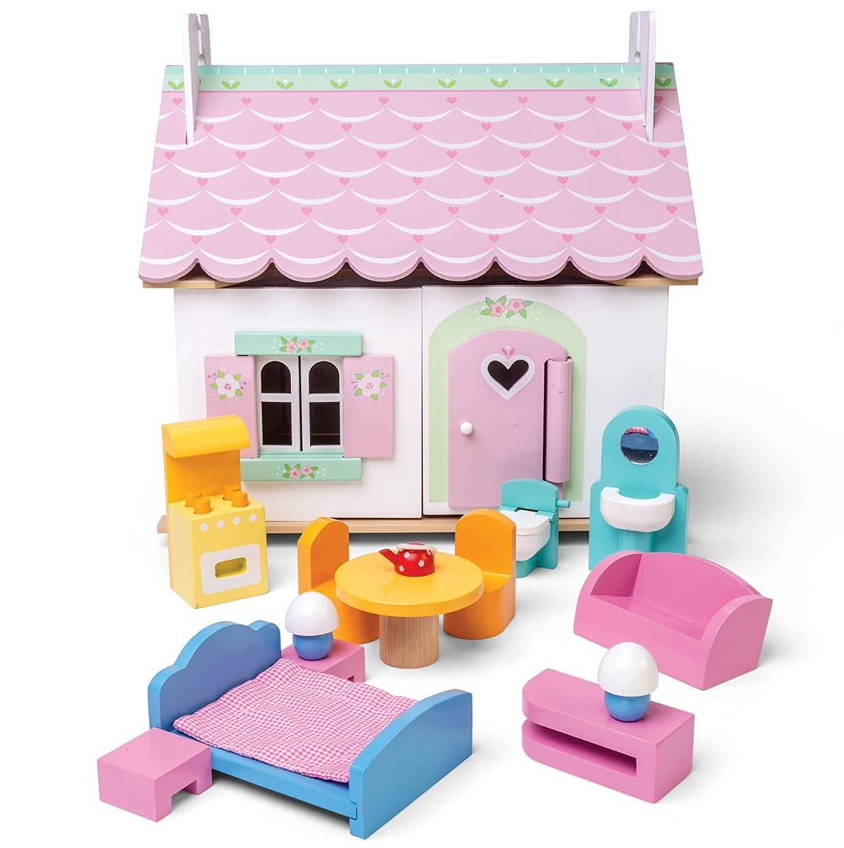 Кукольный домик с мебелью Le Toy Van H111 Лили