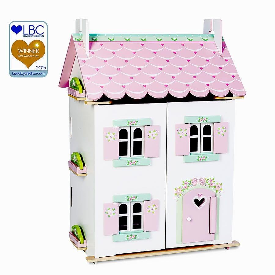 Кукольный домик с мебелью Le Toy Van Нежные сердечки