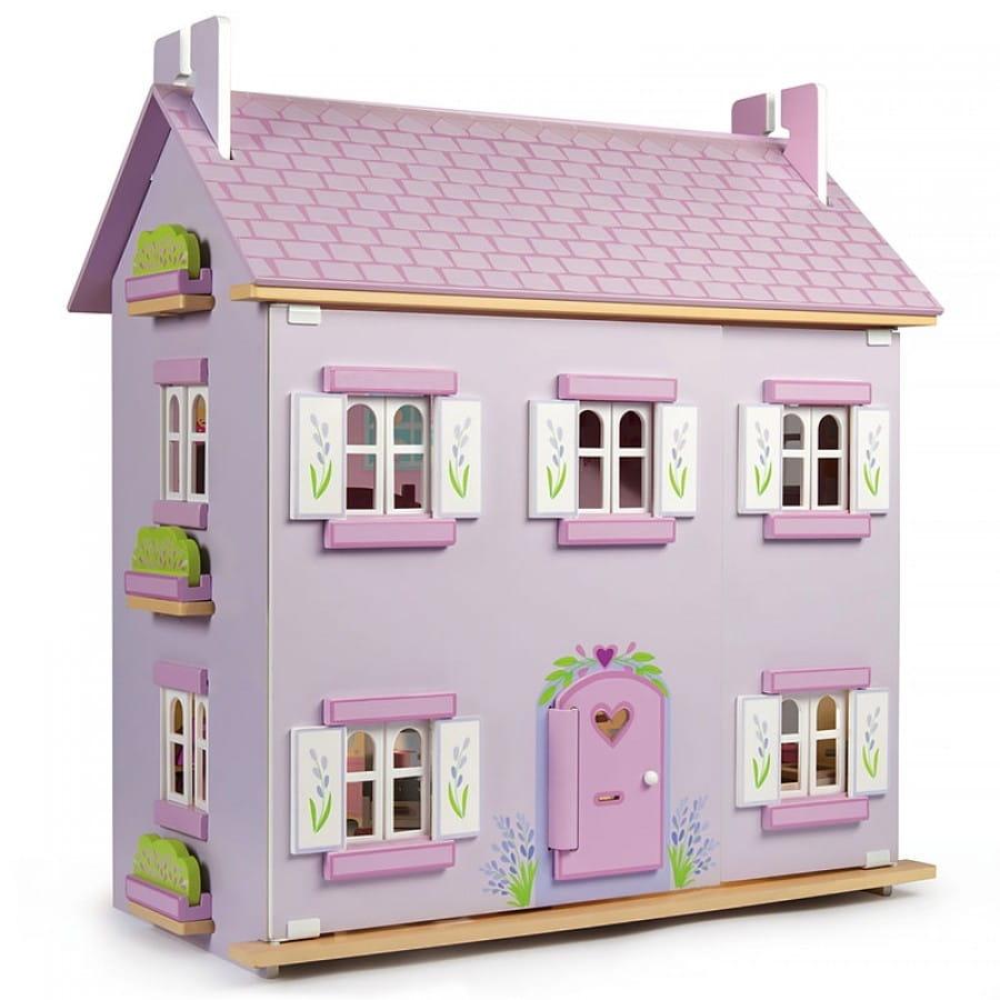 Кукольный домик Le Toy Van Лавандовый