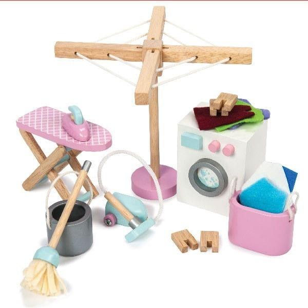 Купить Игровой набор Le Toy Van Прачечная и уборка в интернет магазине игрушек и детских товаров