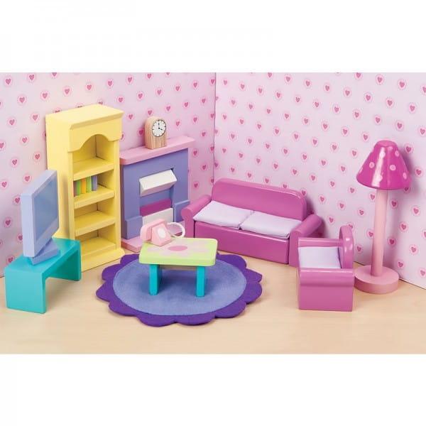 Набор мебели Le Toy Van Сахарная слива - Гостиная