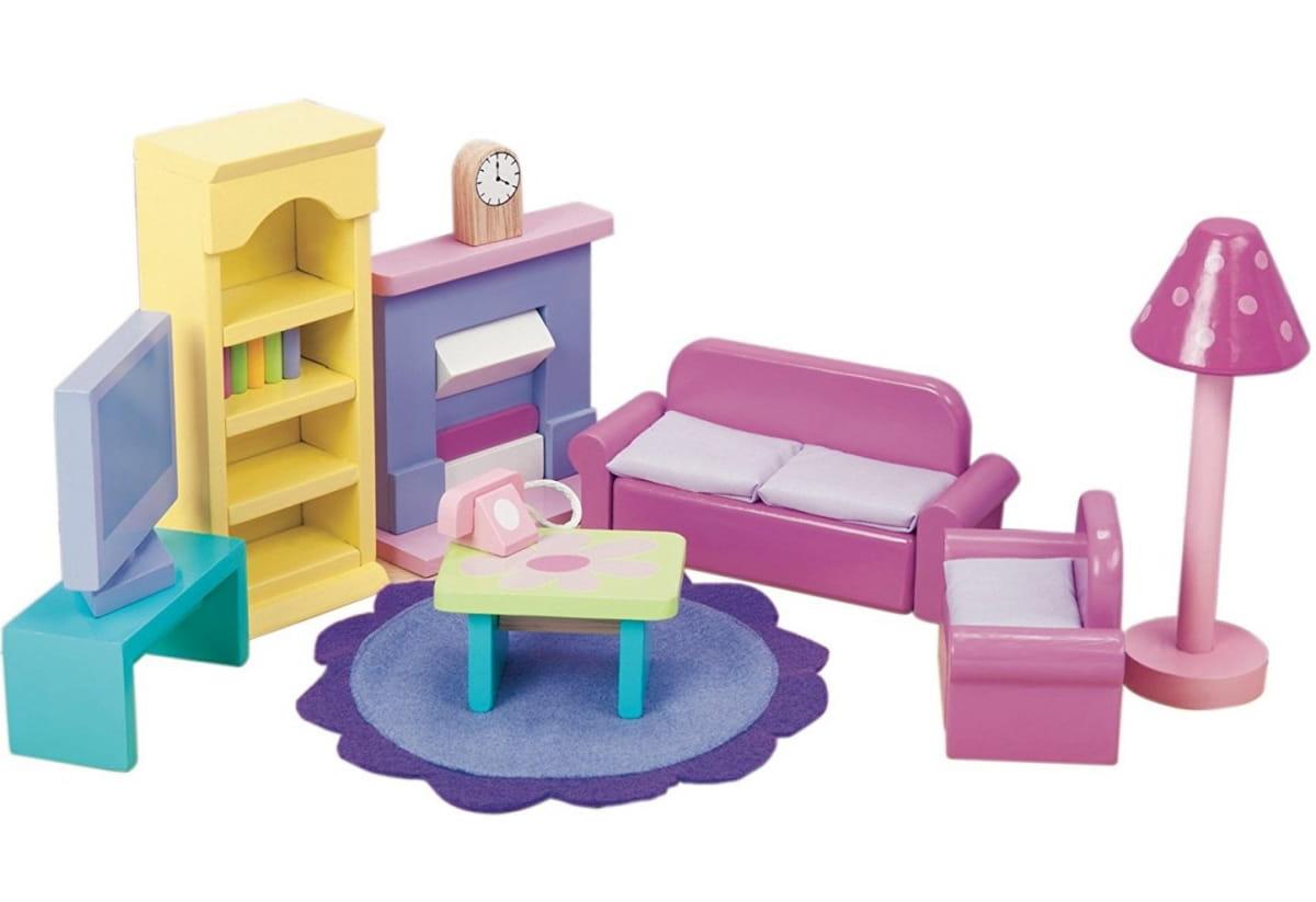 Набор мебели Le Toy Van ME051 Сахарная слива - Гостиная
