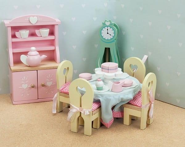 Набор мебели Le Toy Van Бутон розы - Столовая