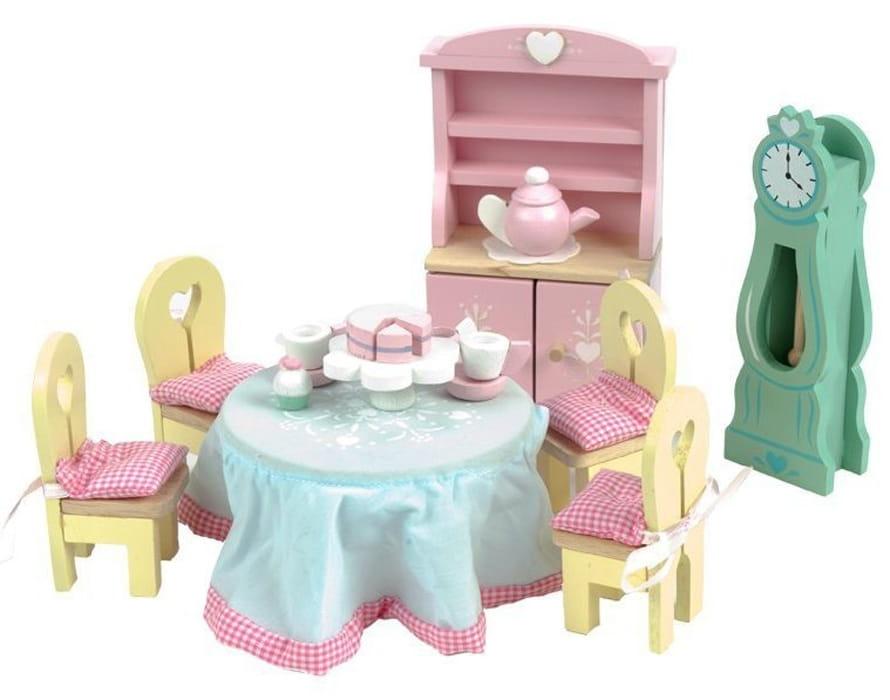 Набор мебели Le Toy Van ME056 Бутон розы - Столовая