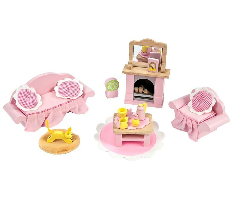 Купить Набор мебели Le Toy Van Бутон розы - Гостиная в интернет магазине игрушек и детских товаров