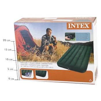 Матрас-кровать INTEX Prestige Downy - с насосом на батарейках (99х191х22 см)