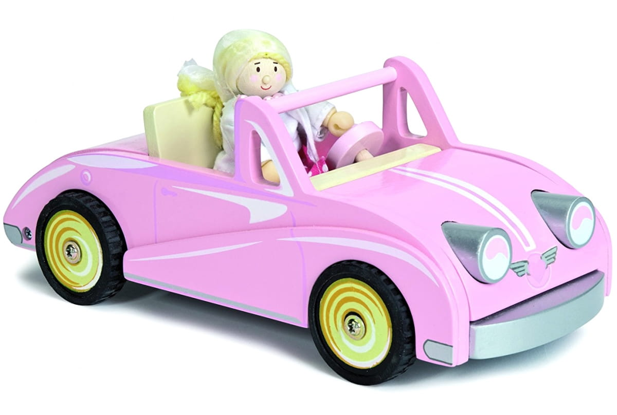 Игровой набор Le Toy Van TV480 Автомобиль-купе Хлои с куклой