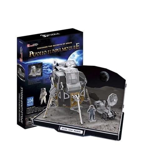 Объемный 3D пазл CubicFun Лунный модуль корабля Аполлон ...: http://www.sunnytoy.ru/shop/cubicfun_objemnyj_3d_pazl_cubicfun_lunnyj_modulj_korablya_apollon.html