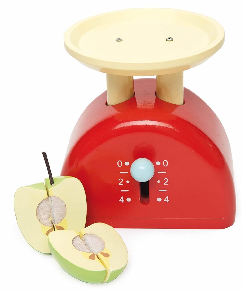 Игровой набор Le Toy Van TV289 Весы с яблоком