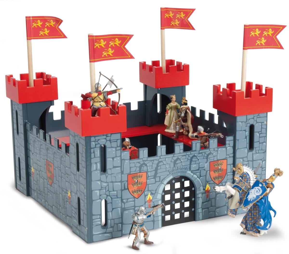 Игровой набор Le Toy Van TV256 Мой первый замок - красный