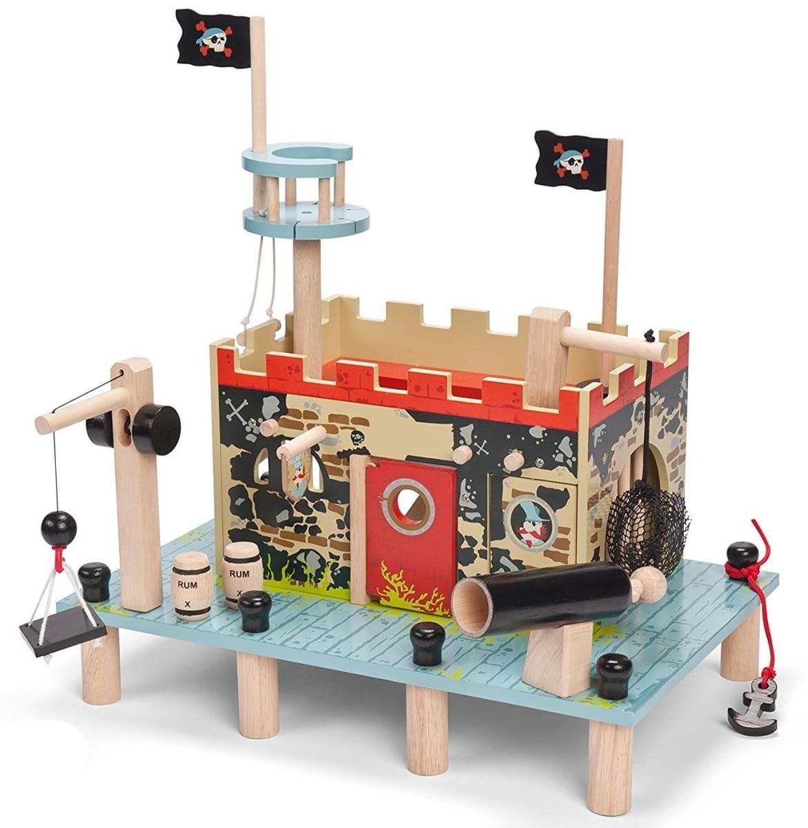 Игровой набор Le Toy Van Пиратская крепость-форт