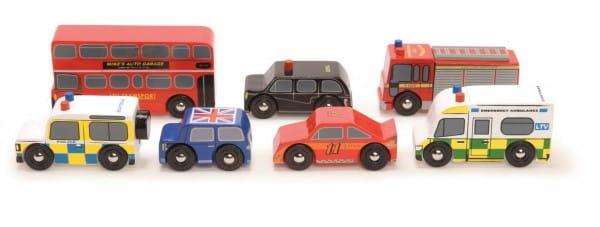 Набор машинок Le Toy Van Лондон