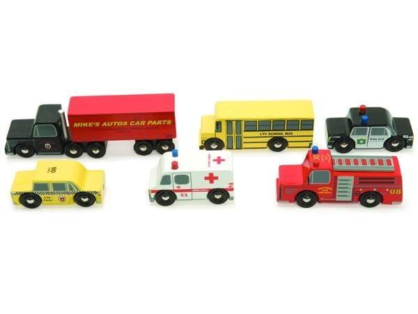 Набор машинок Le Toy Van Нью-Йорк