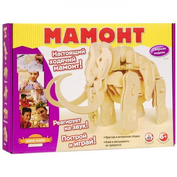 Купить Сборный робот Good Hand Robotic Мамонт (89 деталей) в интернет магазине игрушек и детских товаров