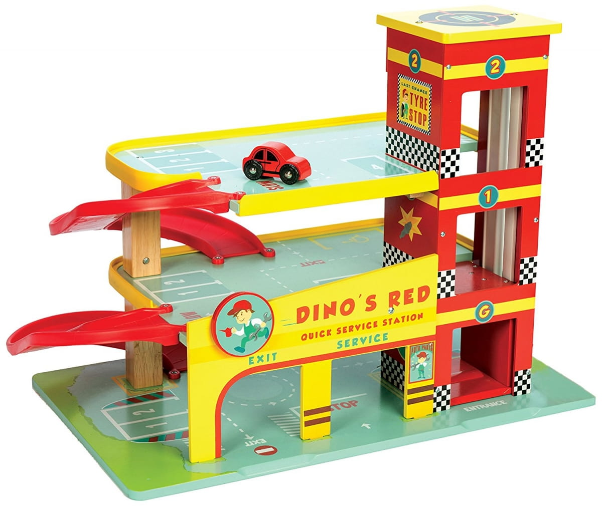 Купить Парковка с машинкой Le Toy Van в интернет магазине игрушек и детских товаров