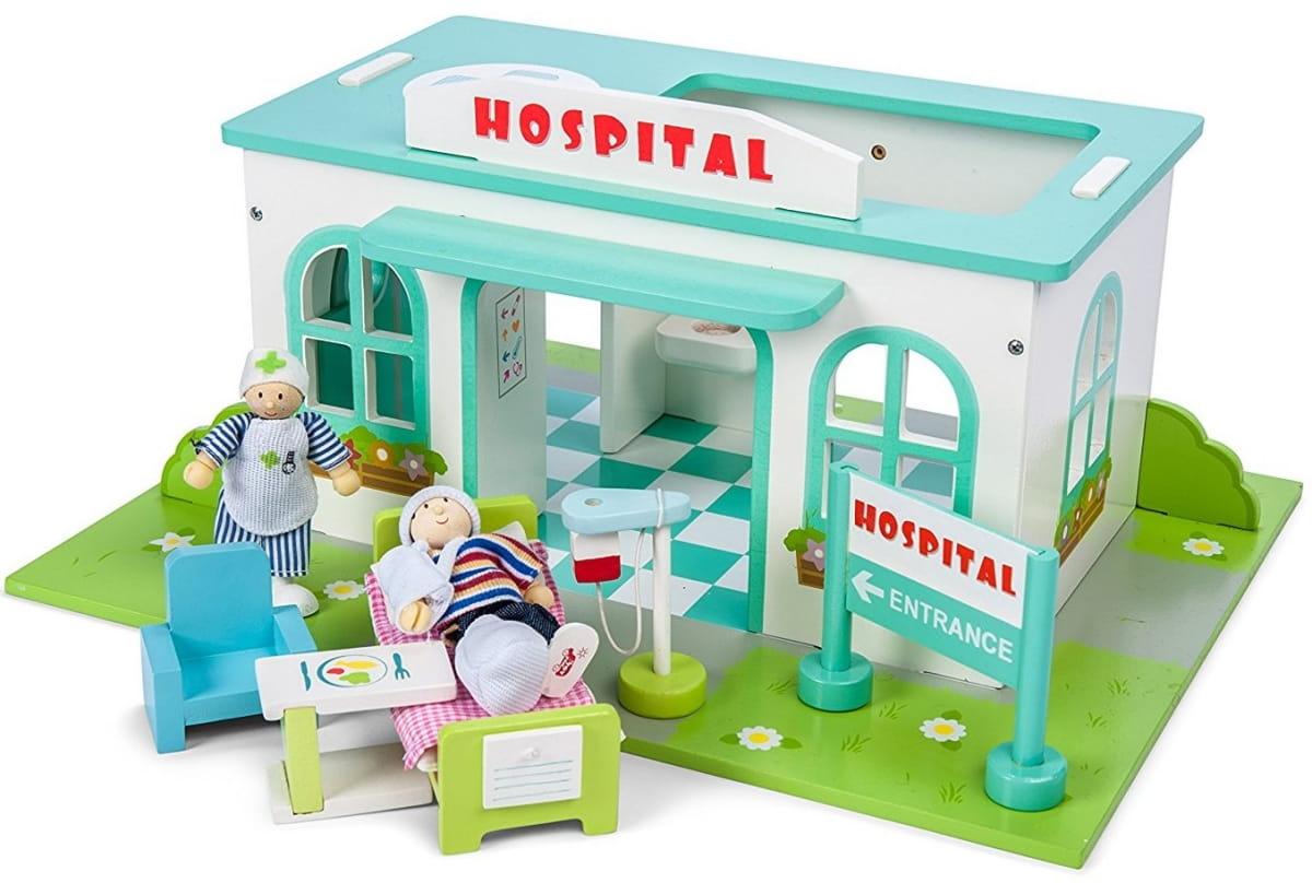 Игровой набор Le Toy Van TV473 Больница (с куклами)