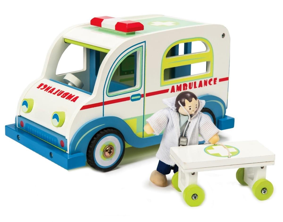 Игровой набор Le Toy Van TV474 Скорая помощь (с доктором)
