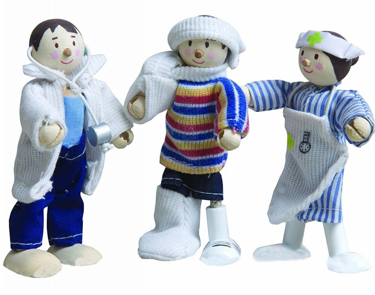 Набор кукол LE TOY VAN Медицинская служба