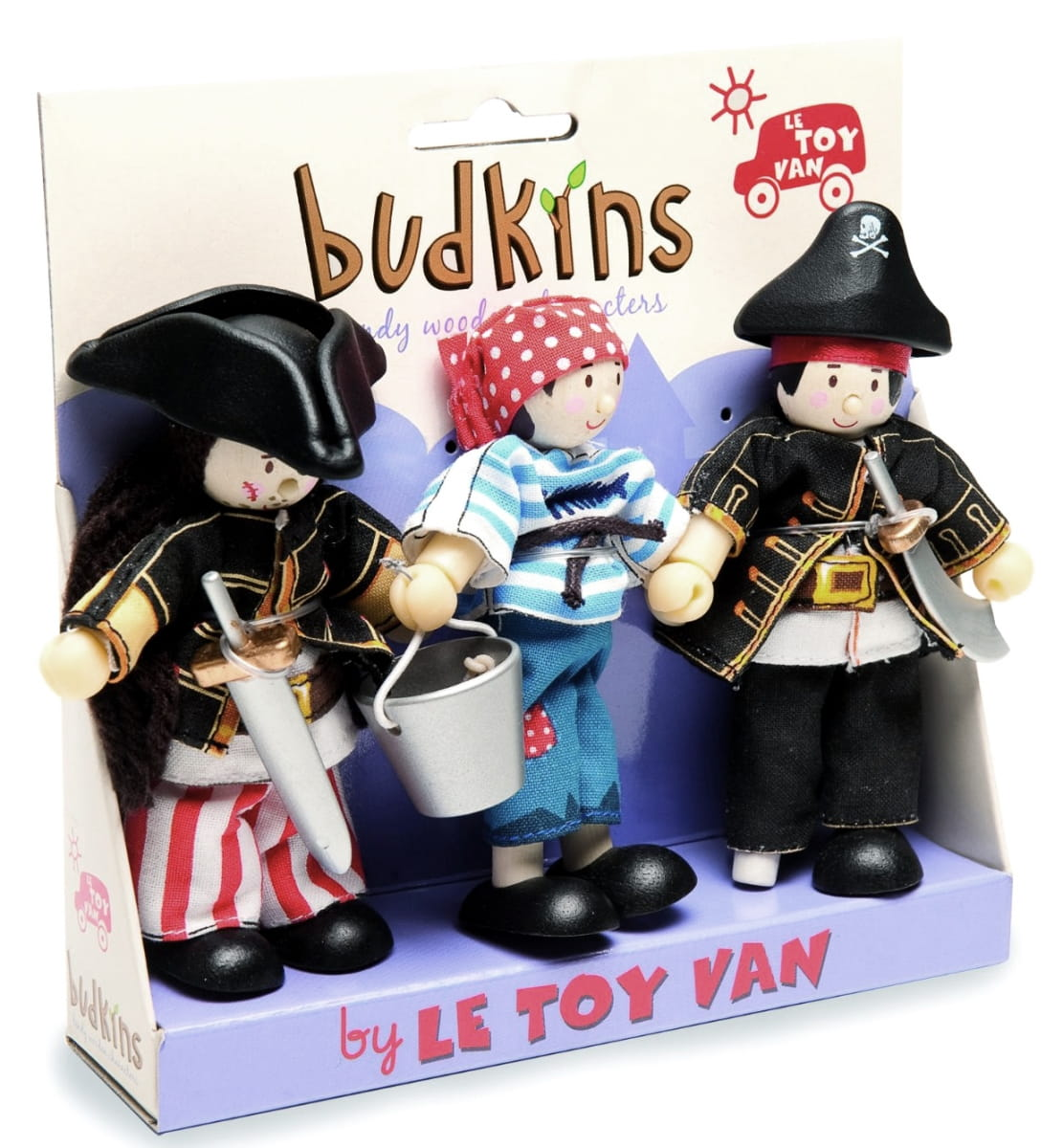 Набор кукол Le Toy Van BK909 Пираты