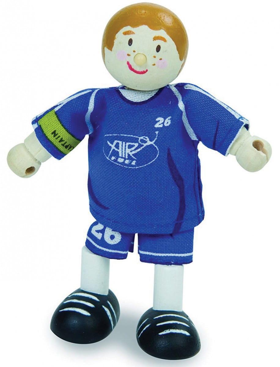 Кукла Le Toy Van BK984 Футболист №26 - синий