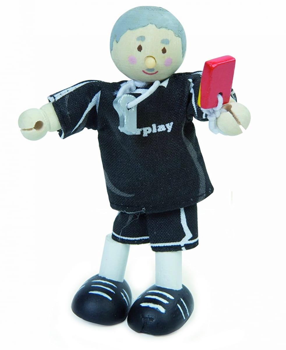 Кукла LE TOY VAN Футбольный судья