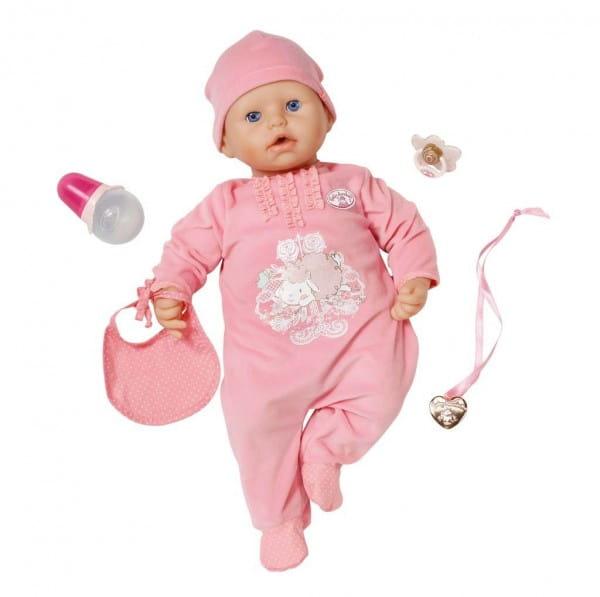 Купить Кукла Baby Annabell с мимикой 3 - 46 см (Zapf Creation) в интернет магазине игрушек и детских товаров