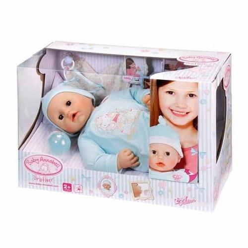 Купить Кукла-мальчик Baby Annabell с мимикой 3 - 46 см (Zapf Creation) в интернет магазине игрушек и детских товаров
