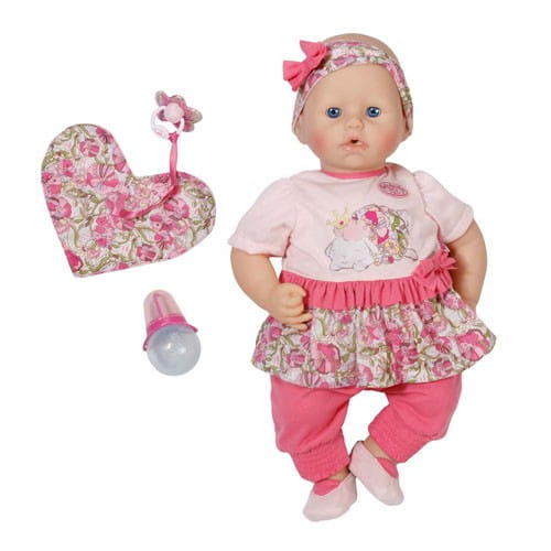 Купить Нарядная кукла Baby Annabell с мимикой 2 - 46 см (Zapf Creation) в интернет магазине игрушек и детских товаров