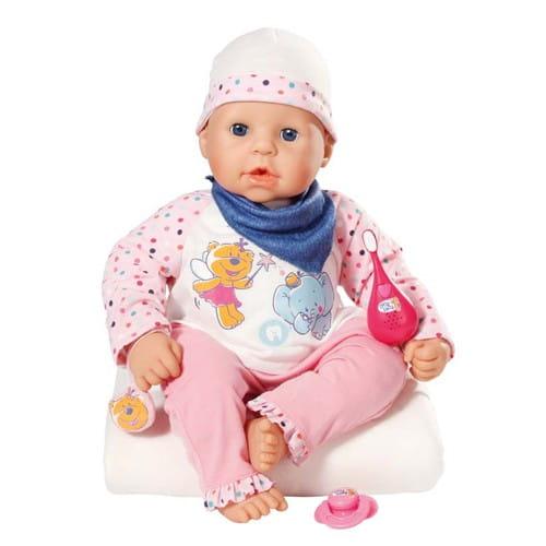 Купить Кукла Chou Chou Мой первый зуб - 48 см (Zapf Creation) в интернет магазине игрушек и детских товаров
