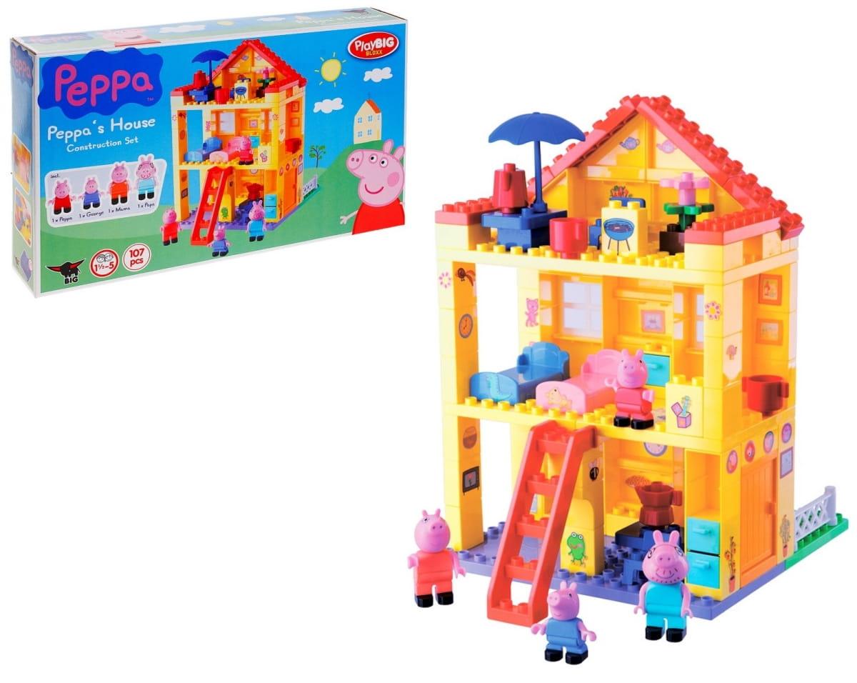 Конструктор Peppa Pig Любимый дом - 107 деталей (Big)