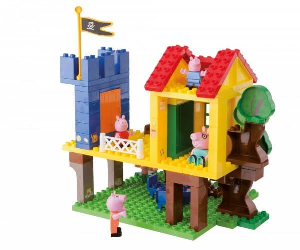 Конструктор Peppa Pig Дом на дереве - 94 детали (Вig)