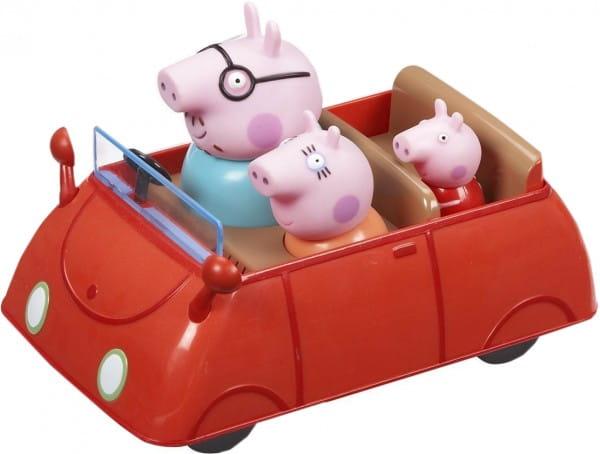 Купить Игровой набор Peppa Pig Машина семьи Пеппы в интернет магазине игрушек и детских товаров