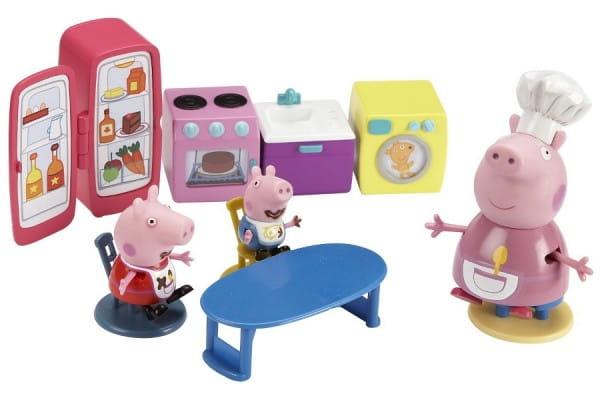 Купить Игровой набор Peppa Pig Кухня Пеппы в интернет магазине игрушек и детских товаров