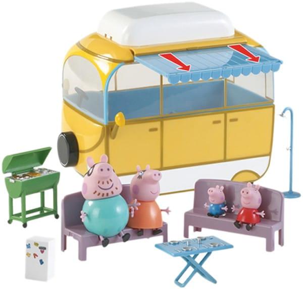 Игровой набор Peppa Pig Кемпинг Пеппы