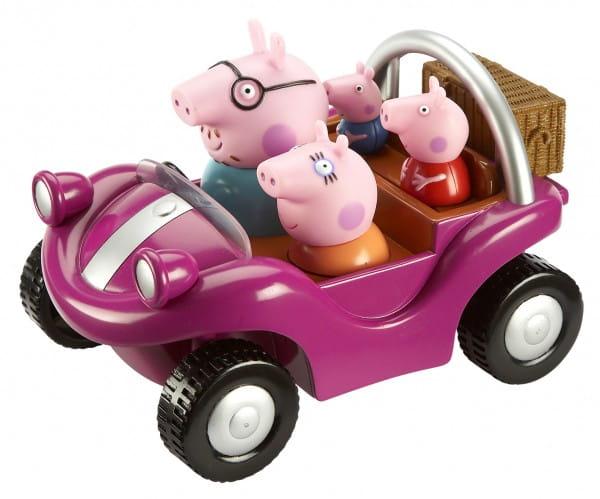 Игровой набор Peppa Pig Спортивная машина Пеппы