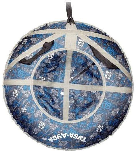 Купить Ватрушка-тюбинг Туба-Дуба Т-80 - синий в интернет магазине игрушек и детских товаров